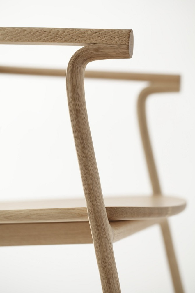 splinter armchair15 Splinter Collection by Nendo in THISISPAPER MAGAZINE