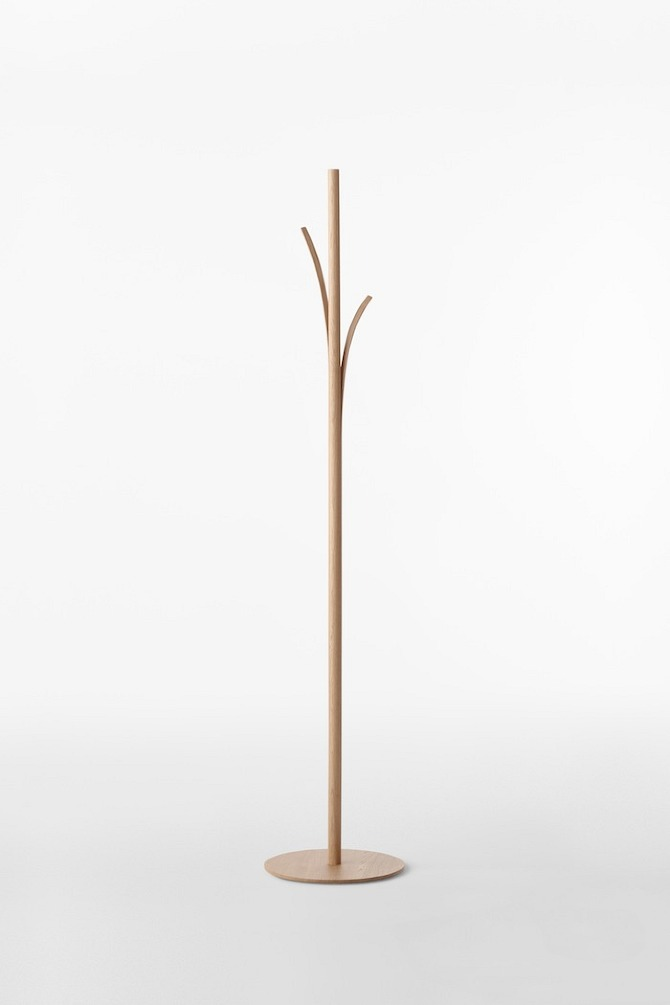 splinter coat stand01 Splinter Collection by Nendo in THISISPAPER MAGAZINE
