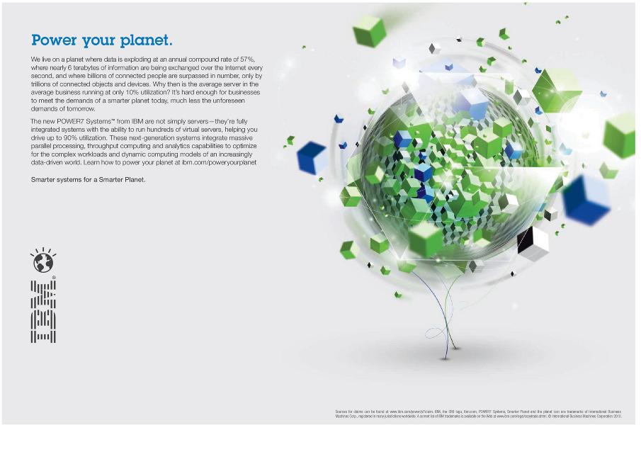 Ibm Smarter Planet Ads