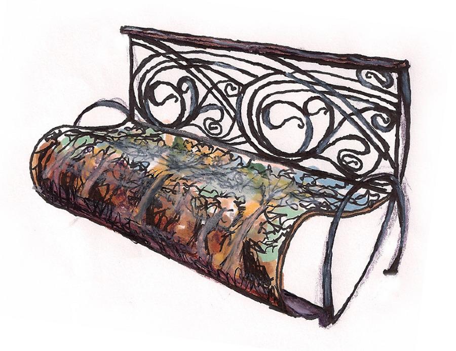 art nouveau inspired design design portfolio. Black Bedroom Furniture Sets. Home Design Ideas